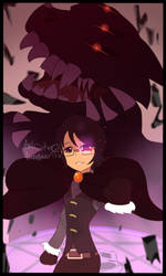 Snowfall (Oc) Emma the monster/demon summoner by DinoLover123
