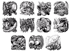 Monster Hunter Pokemon Style by 121DL3Y