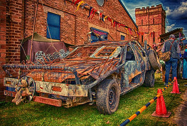 Car at IronFest by Bartius007