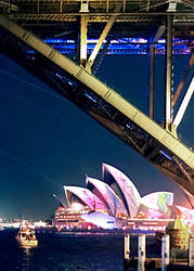 Opera House during Vivid by Bartius007
