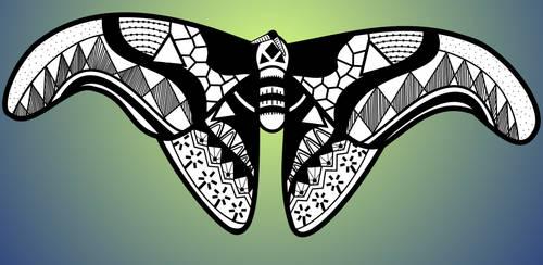 Zen Moth by NapalmBeetle