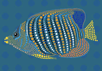 Dot Art Fish by NapalmBeetle