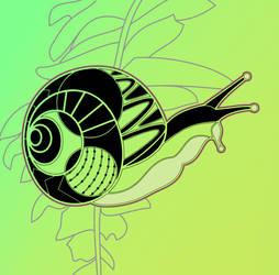 Zen Snail by NapalmBeetle
