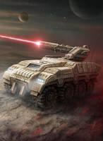 Armored Vehicle by LeonovichDmitriy