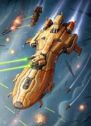 Destroyer by LeonovichDmitriy