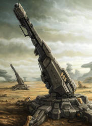 Artillery by LeonovichDmitriy
