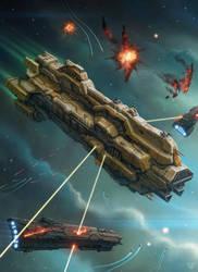 Assault Battleship by LeonovichDmitriy