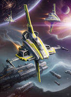 Omega Squadron by LeonovichDmitriy