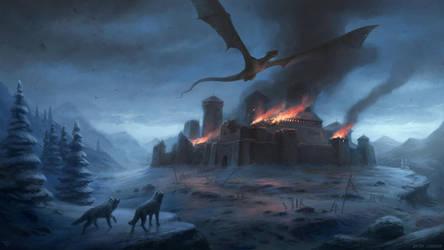 Winterfell by LeonovichDmitriy