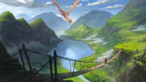 Death from the sky by LeonovichDmitriy