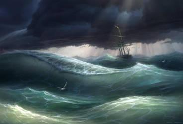 Waves by LeonovichDmitriy