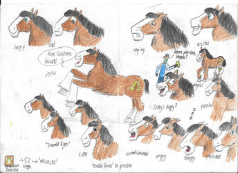The Clydesdale's emotions by HorsesPlease