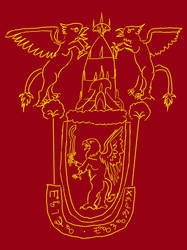 Emblem of the Sarmelonid Vozonid Empire by HorsesPlease