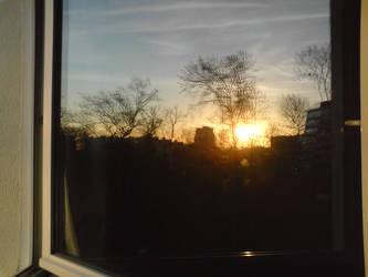 Window Reflexion by Xionbox