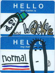 Hello My Name Is-Wackee-Normal by florafawna