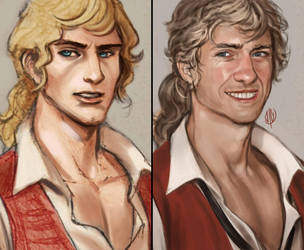 Enjolras paintover by jaeon009
