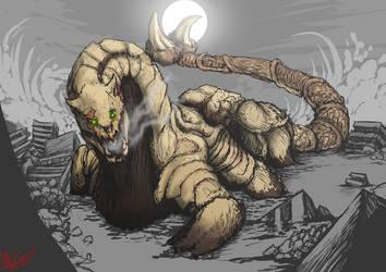 [COMMISSION]Behemoth by plaguebr