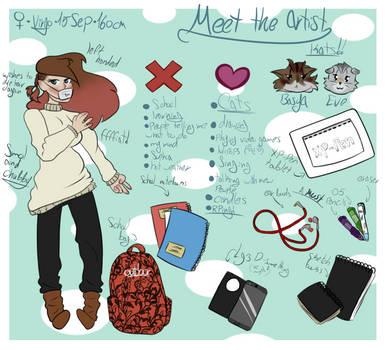 Meet The Artist by KittyKitty127