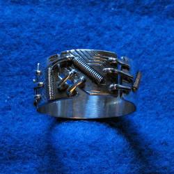 Cyborg Ring by harlewood