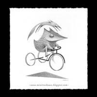 Cycling Forward by minitreehouse