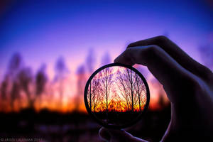 Through The Glass by v4nssi