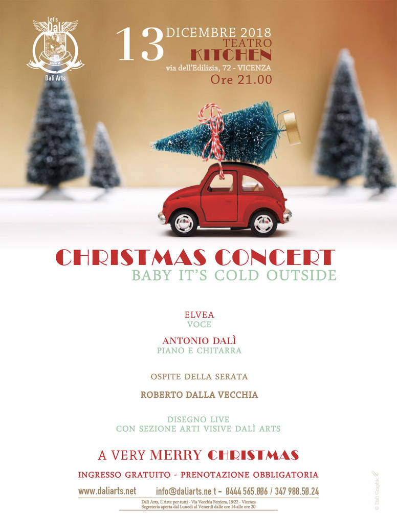 Christmas Concert - Baby it's cold outside by daliarts