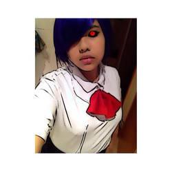 Touka Kirishima - Tokyo Ghoul Cosplay by WhiteScytheGaming