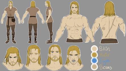 Aeron - Character Sheet by TasukraVonLiathmore