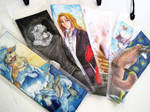Bookmark commissions by Capukat