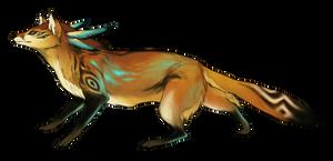 Tribal Fox by Capukat