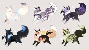 magical fox kits - open by Capukat