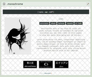[ CB ] Monochrome by raionxdesu