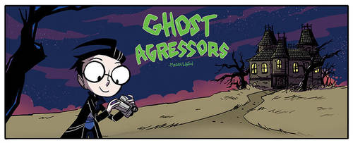 Invader ZIM Guest Comic: Ghost Aggressors by DIN0LICH