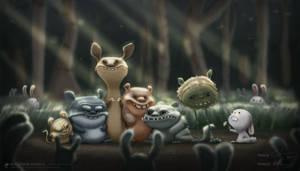 Making Friends by ceramicmatt