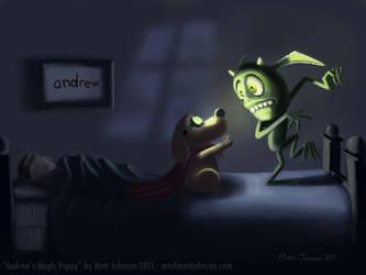 Andrew's Magic Puppy by ceramicmatt