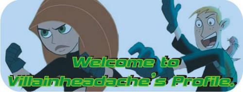 welcome banner by Villainheadache
