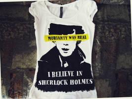 Sherlock BBC T-Shirt by masyankaya