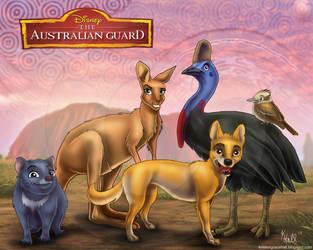 The Australian Guard by Unicornarama