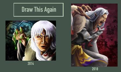 Draw This Again: Sesshomaru by Unicornarama