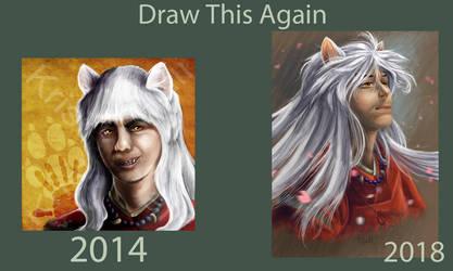 Draw this Again: Inuyasha by Unicornarama