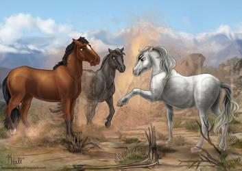 Phantom Stallion by Unicornarama