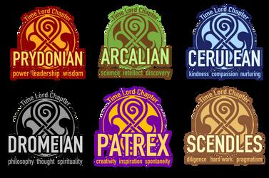 Gallifreyan Chapter Seals by Unicornarama
