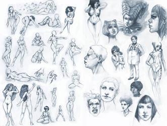 sketchbook IV by DanielaUhlig