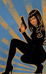 Gun Girl III by DanielaUhlig