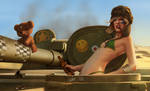 Tank Girl by DanielaUhlig