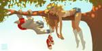 Sloth by DanielaUhlig