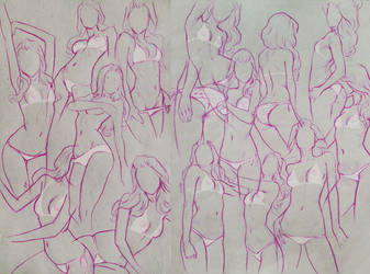 Bikini Girls by DanielaUhlig
