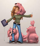 Knubbelchen Attack by DanielaUhlig