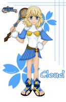 FFCC - Cloud by cutiekat