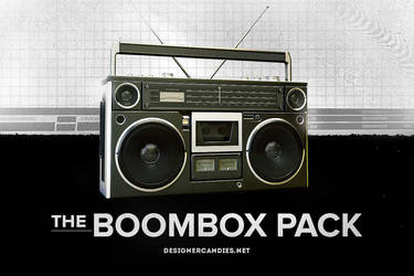 The Boombox Pack by DesignerCandies